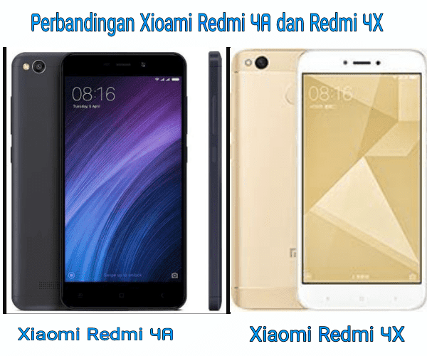 Review Xiaomi : Mana yang Lebih Baik Antara Xiaomi Redmi 4A dan Redmi 4X?