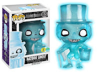 Pop! Disney: Haunted Mansion - Hatbox Ghost (Blue Glow Glitter - 1000pc LE)