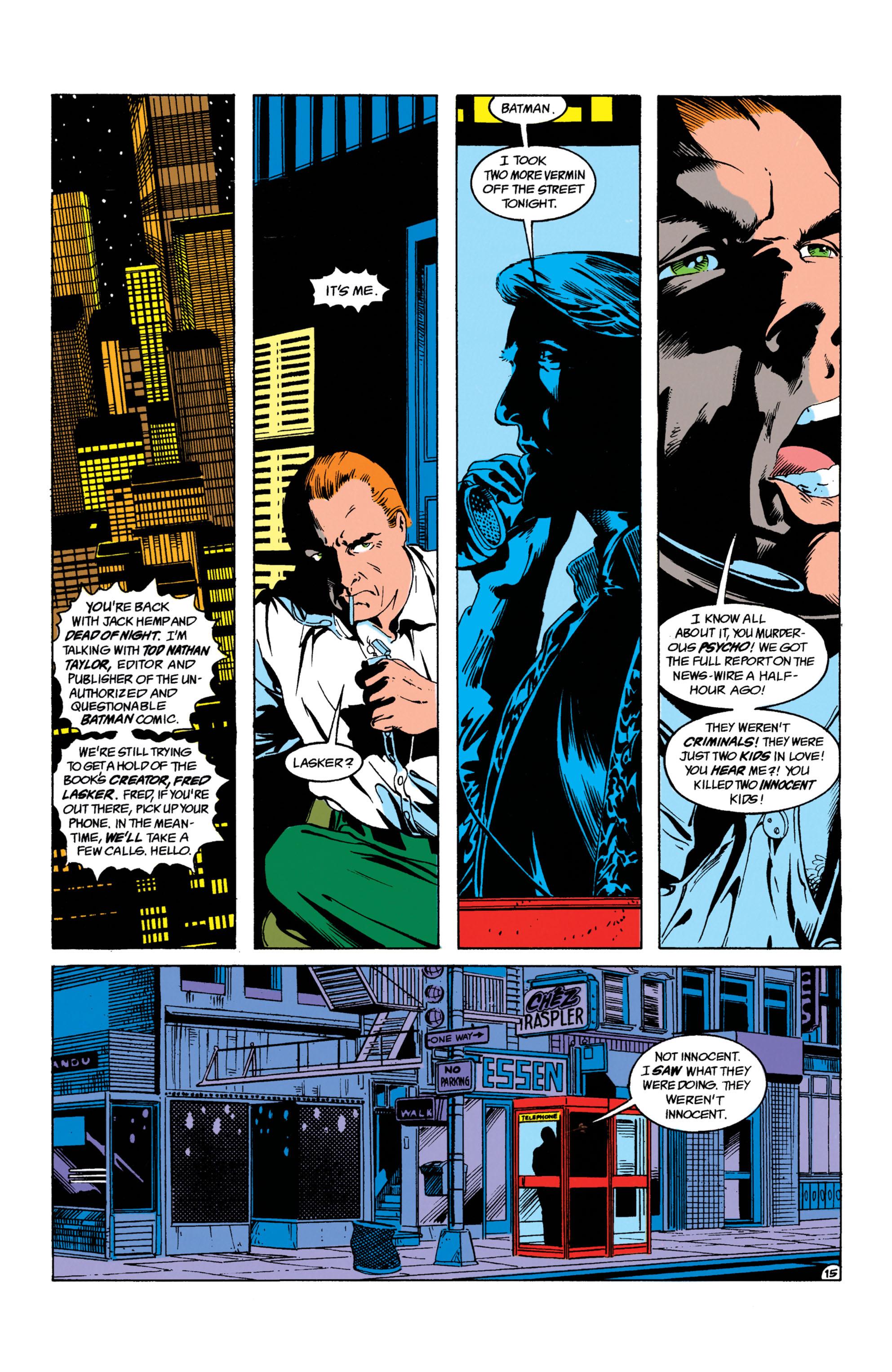Detective Comics (1937) 623 Page 15