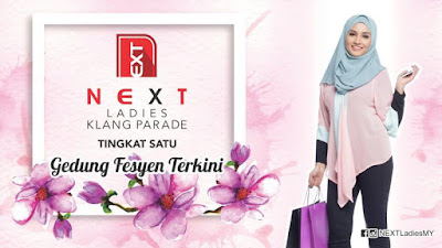 NEXT Ladies Klang Parade tingkat 1
