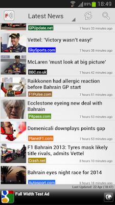 Freader1 – Formula Racing News