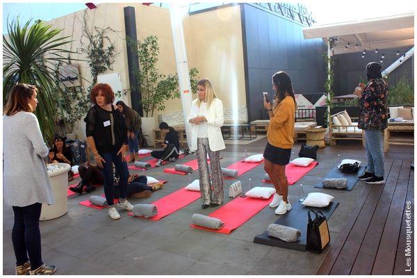 Blog beauté : Cours de sophrologie, event Forté Pharma, Marseille