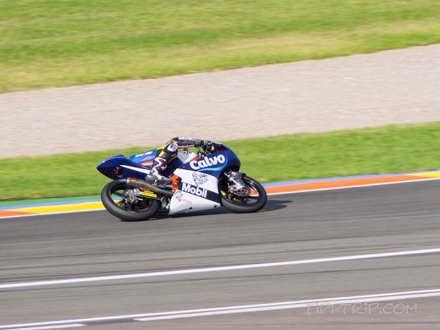 Moto 3, Valencia
