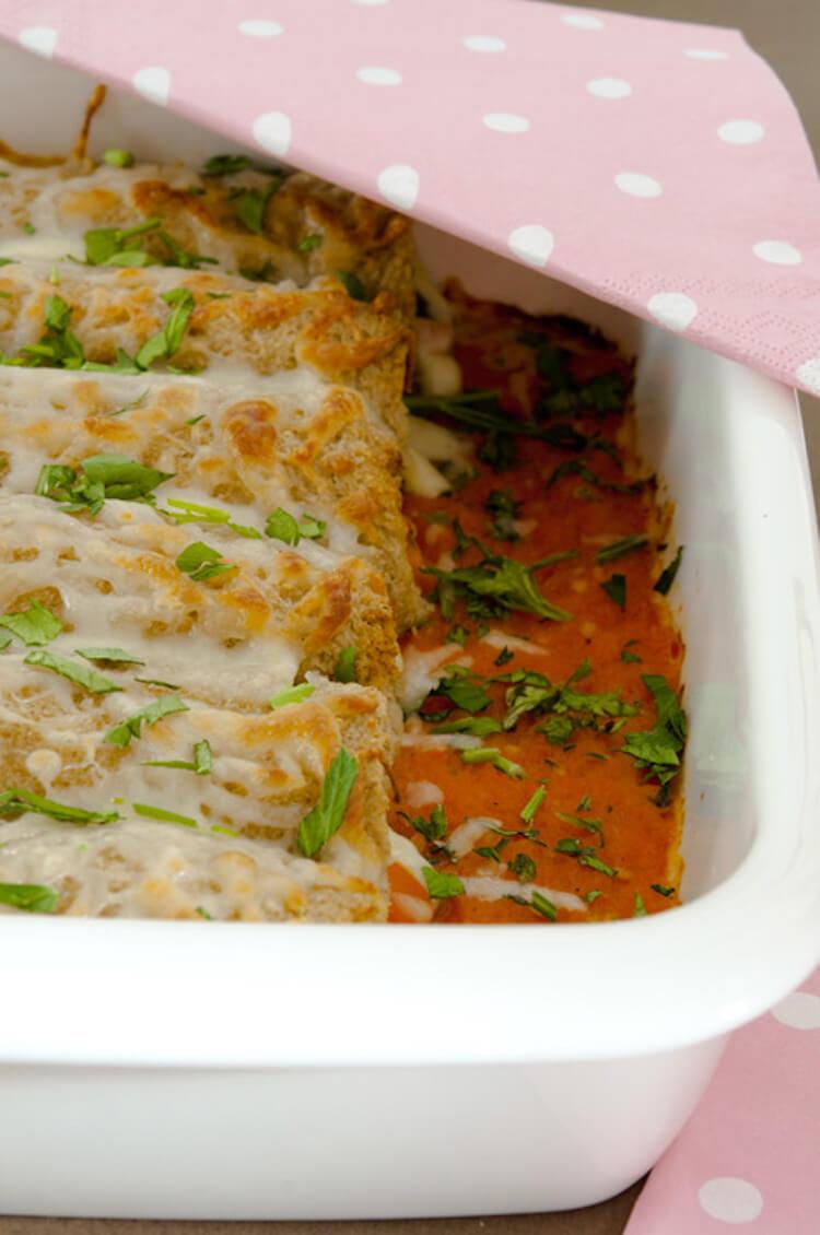 5 recetas con pan de molde festivas, lasaña de pan de molde