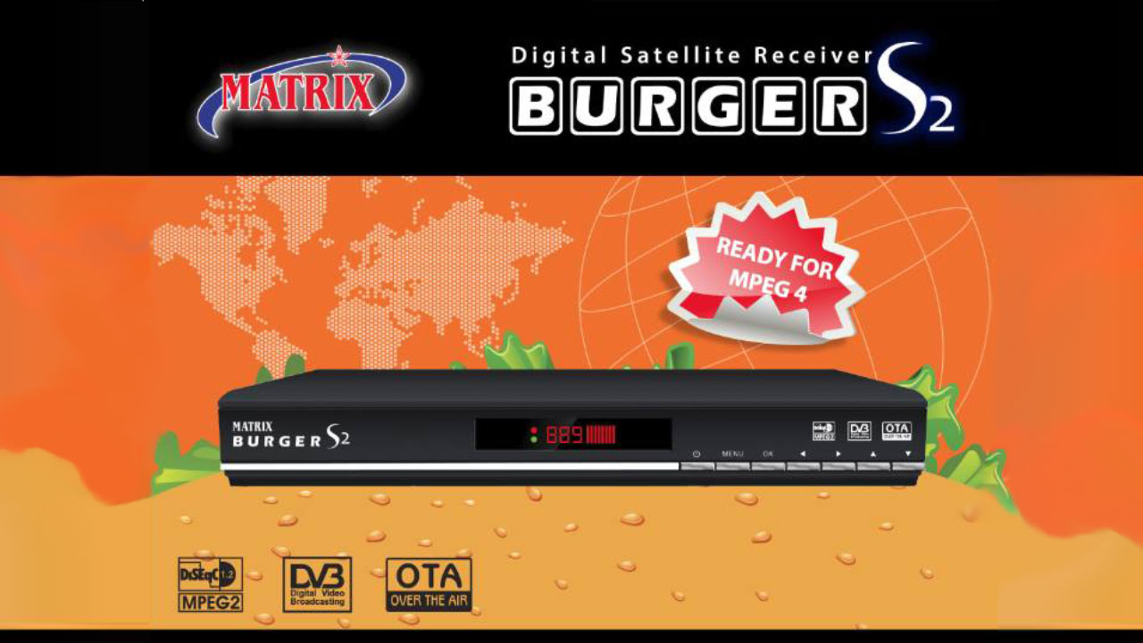 SW Matrix Burger S2 MPEG2 Software Firmware Terbaru