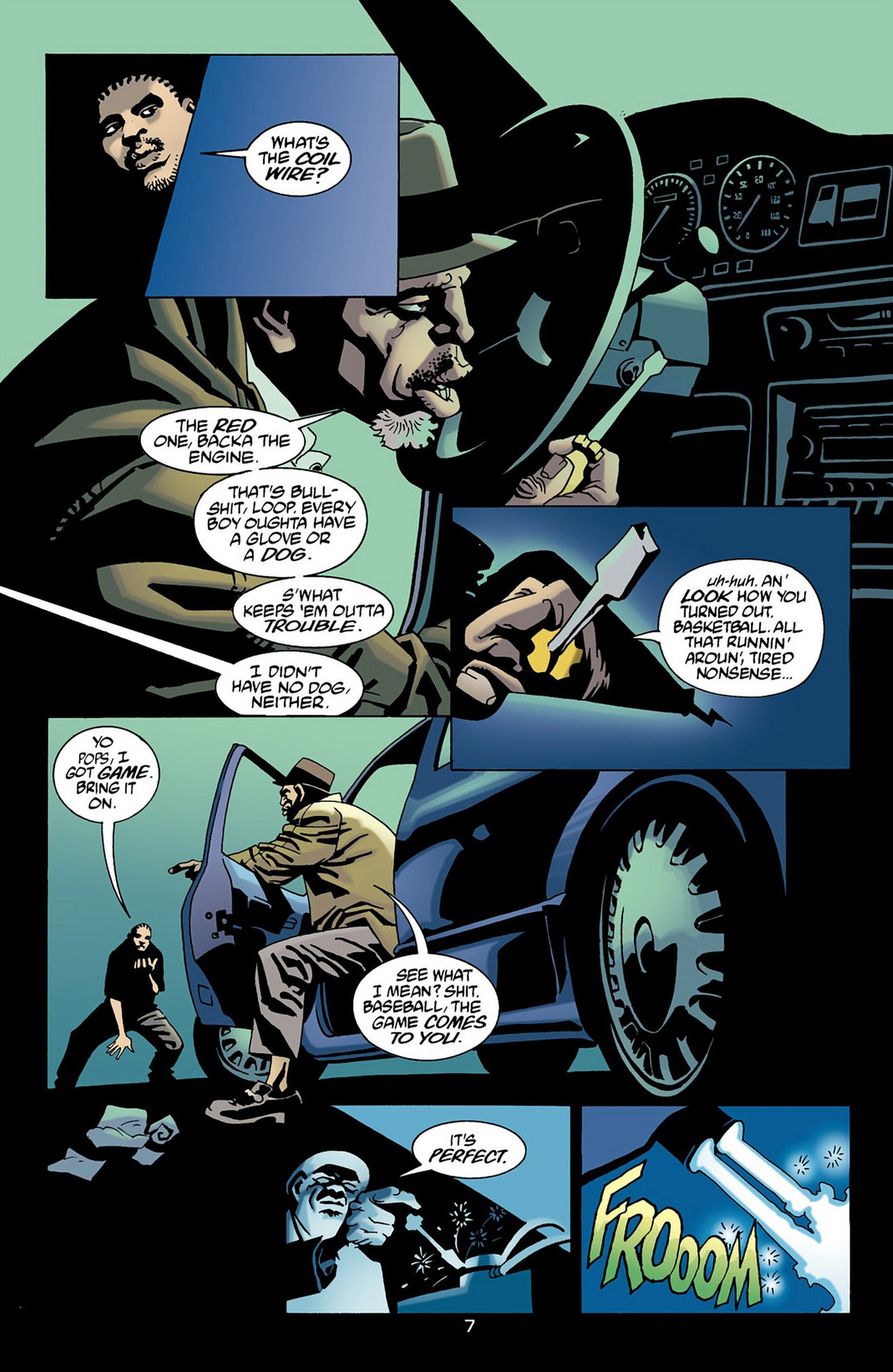 Read online 100 Bullets comic -  Issue #16 - 8