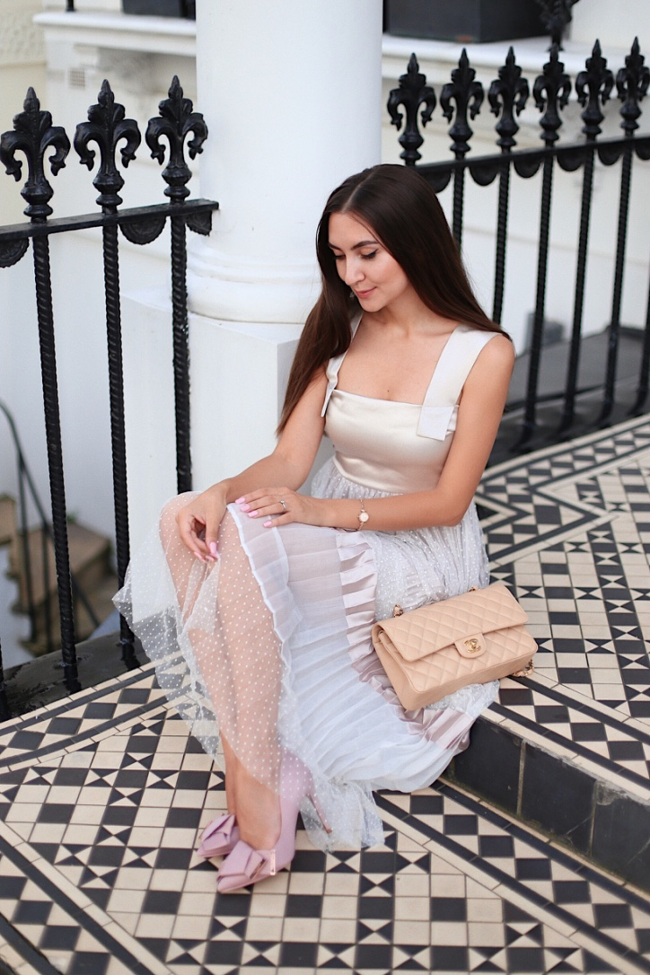 london street style, fashion blogger, white maxi dress