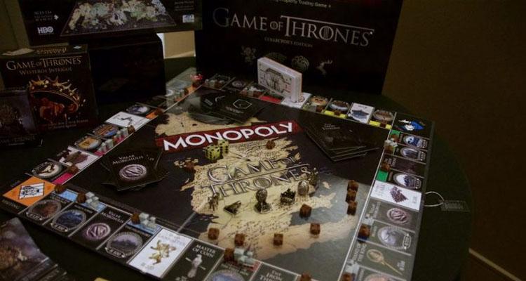 El Monopoly De Juego De Tronos Y Otras Variantes De Juegos De Mesa
