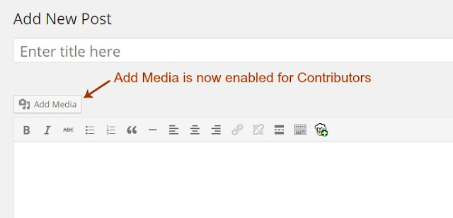 Allow Contributors to Add Images, Media, Files in WordPress