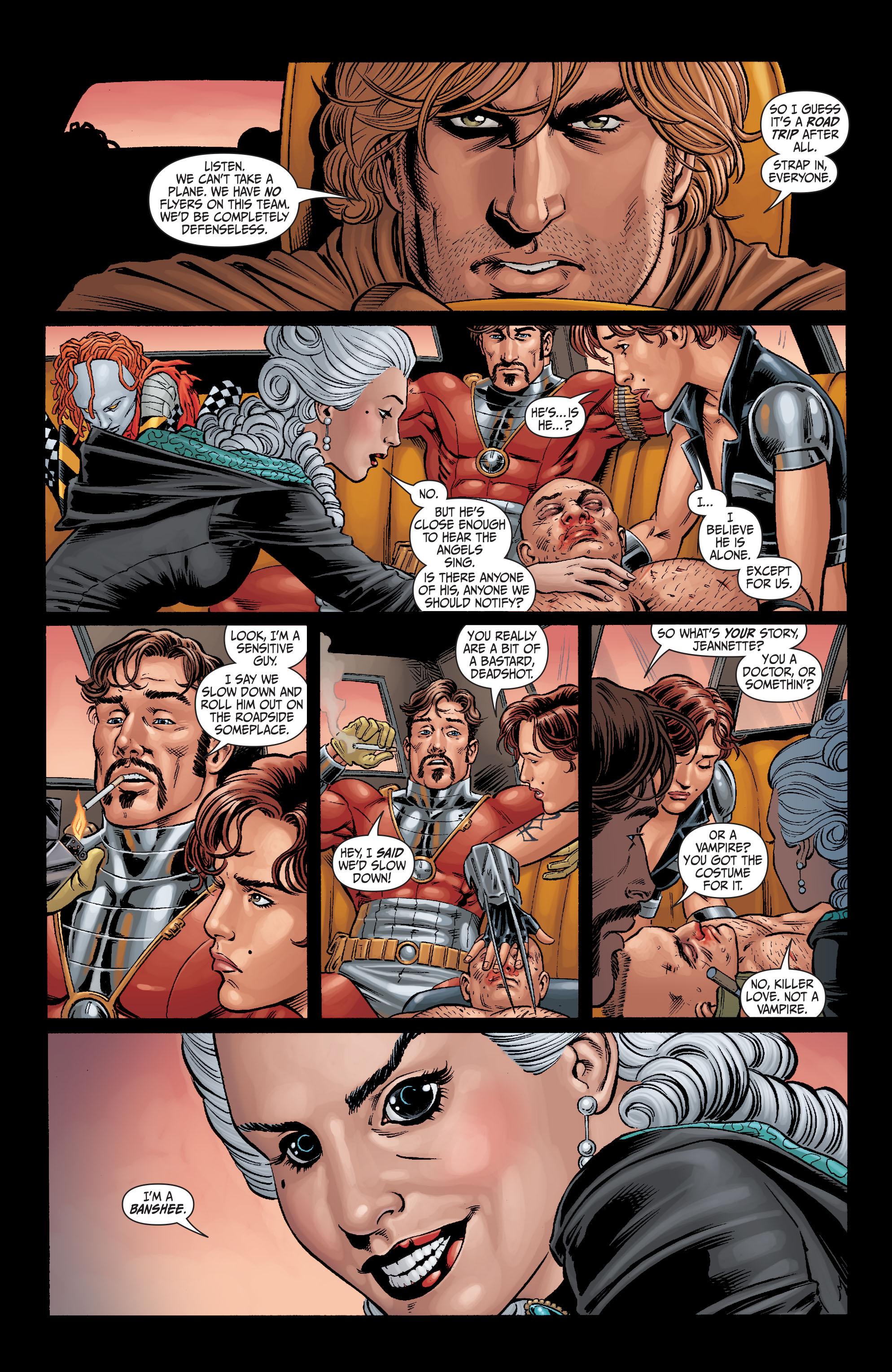 Read online Secret Six (2008) comic -  Issue #6 - 10