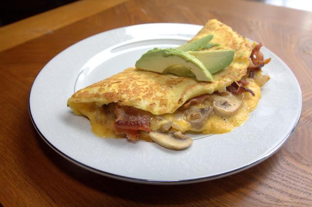 Diabetic Breakfast Recipe | Mushroom Omelette