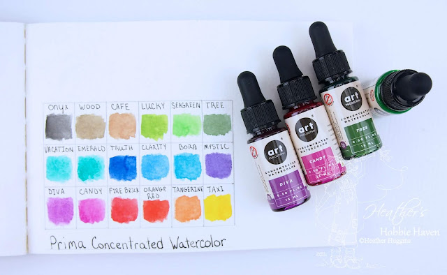 Heather's Hobbie Haven - Prima Concentrated Watercolor Review