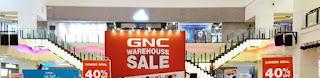 GNC Warehouse Sale 2017