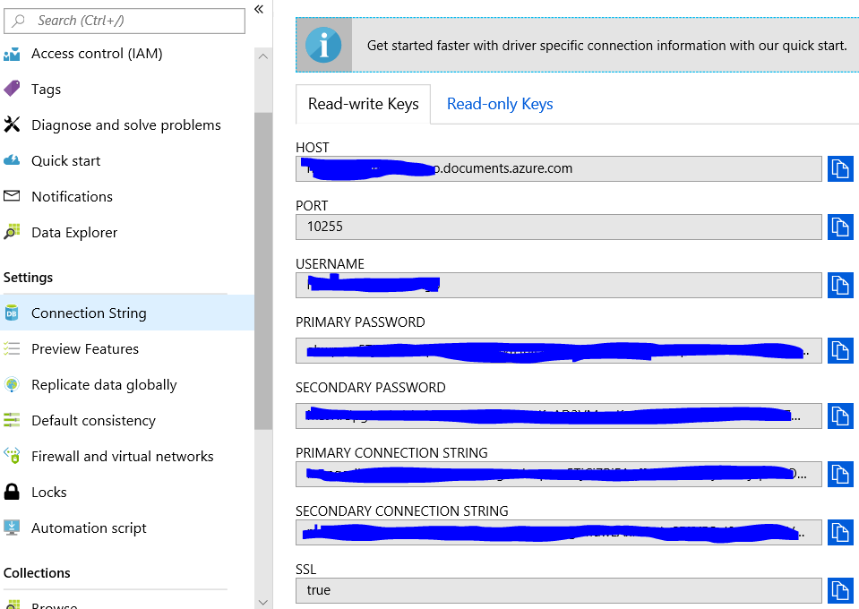 ssms get connection string