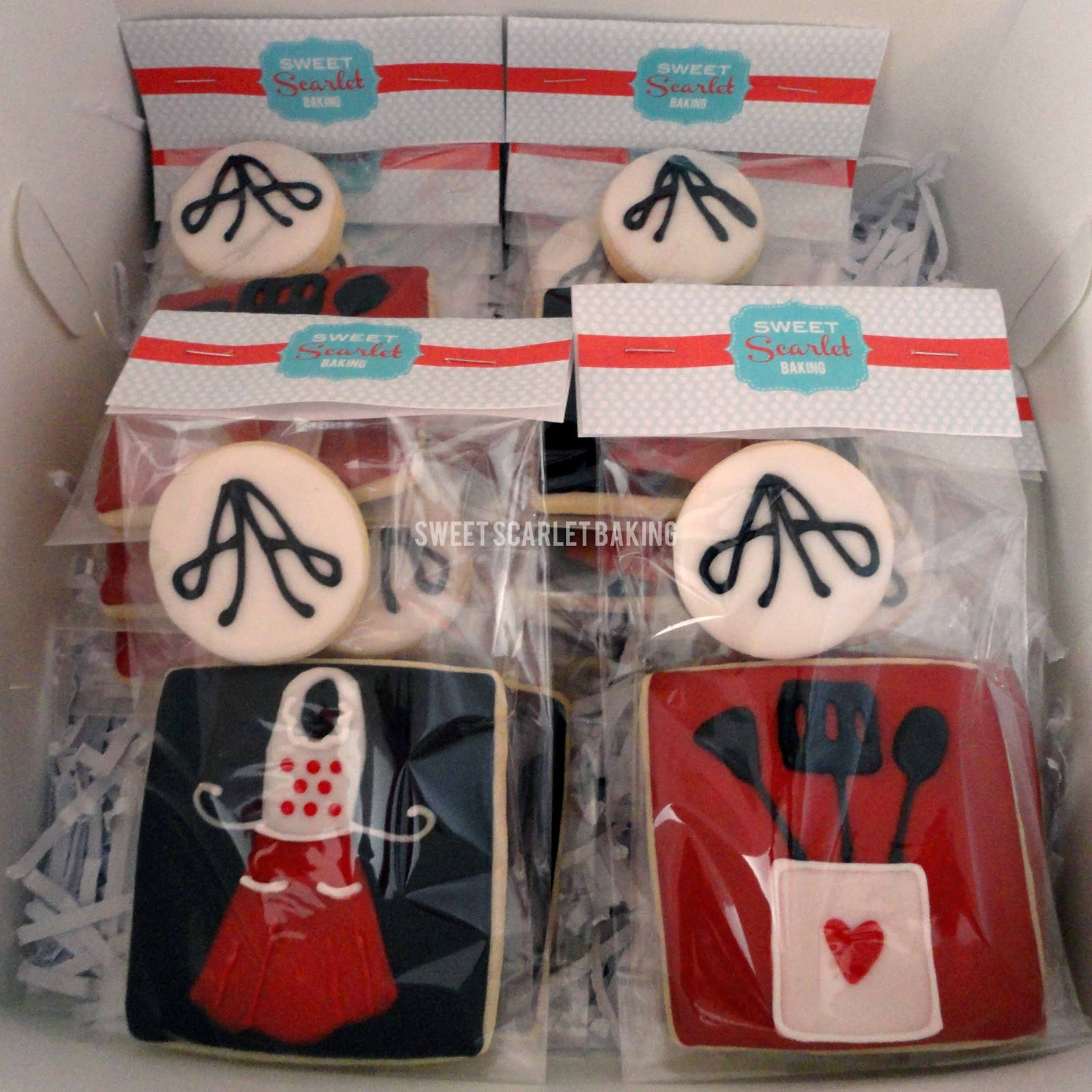 Kitchen Themed Bridal Shower Utility Carts Sweet Scarlet Baking Let 39s Get Cookin 39 A