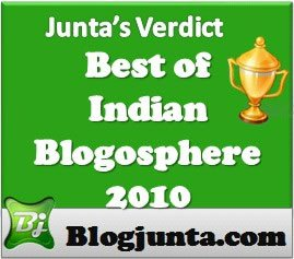 BoIB 2010 polls, an initiative by Blogjunta