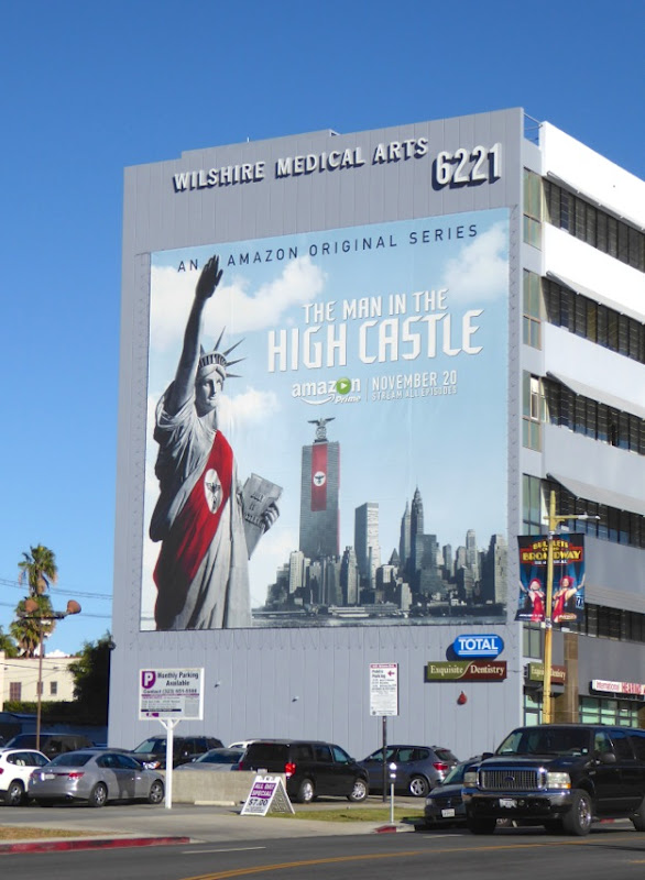 Man in the High Castle season 1 billboard