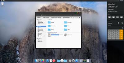 SkinPack Dark OS X