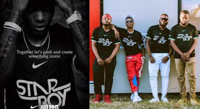 Wizkid, Nike 'Starboy' Jersey Sells Out In Minutes