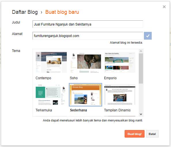 Setelah sekian cukup lama diriku nggak update postingan tentang blog dan juga sebab masi 6 Langkah Gampang Tutorial Membuat Blog Gratis di Blogspot