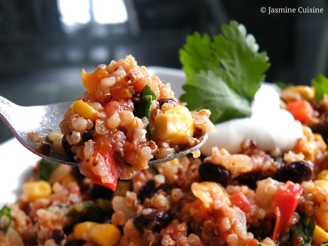Quinoa mexicain jasmine cuisine for Jasmine cuisine