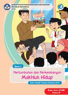 Tema 1 Buku Guru Kelas 3-III Kurikulum 2013 Revisi 2018