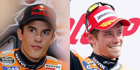 Honda: Marc Marquez Dan Casey Stoner Satu Level