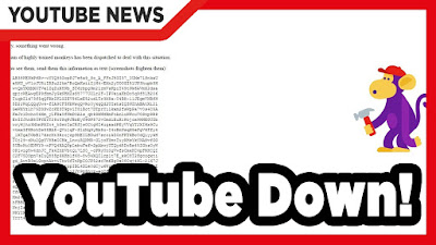 Akhirnya Youtube Bisa di Akses Pagi ini setelah Down