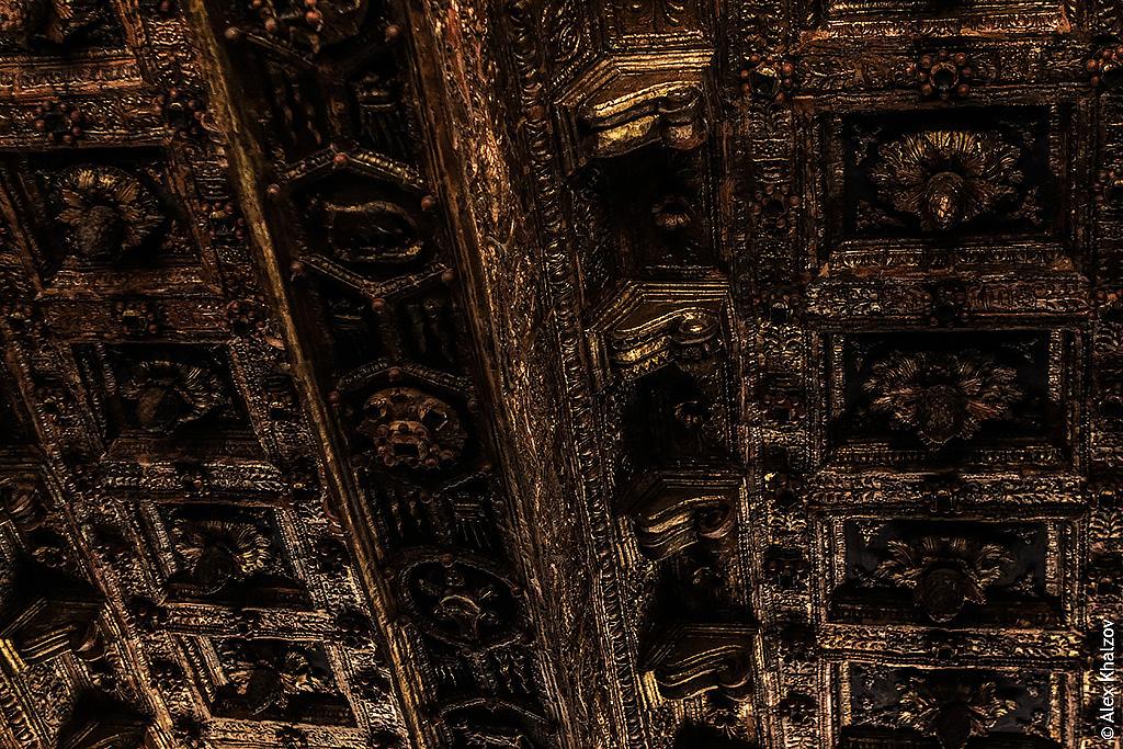 Потолок в Ватикане