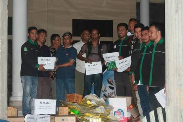 ILMAKA Bantu Korban Banjir di Aceh Jaya