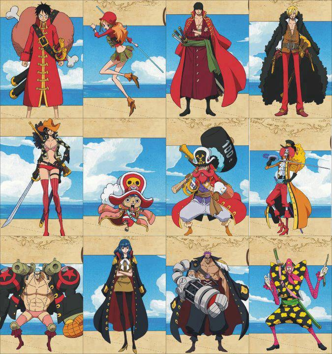 One Piece After 2 Years: July 2012