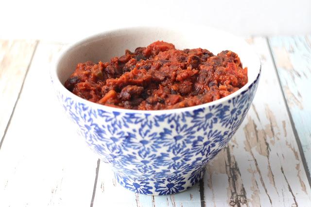 Spicy tomato beans recipe