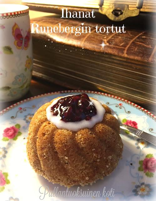 #baking #runeberg #runebergintorttu #leivonnainen #leivos #runebergtårta