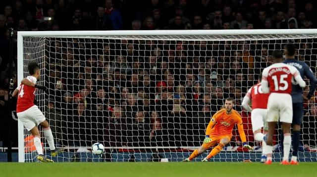 Hasil Liga Inggris: Kalah Lawan Arsenal, MU Keluar dari Empat Besar