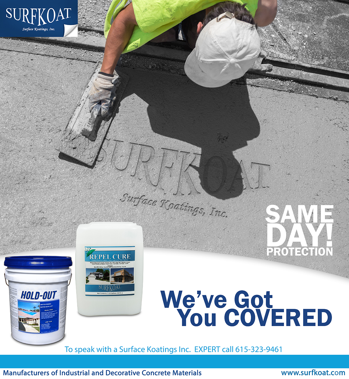 SURFKOAT™: Same Day Protection! Concrete Driveway Sealers From Surfkoat