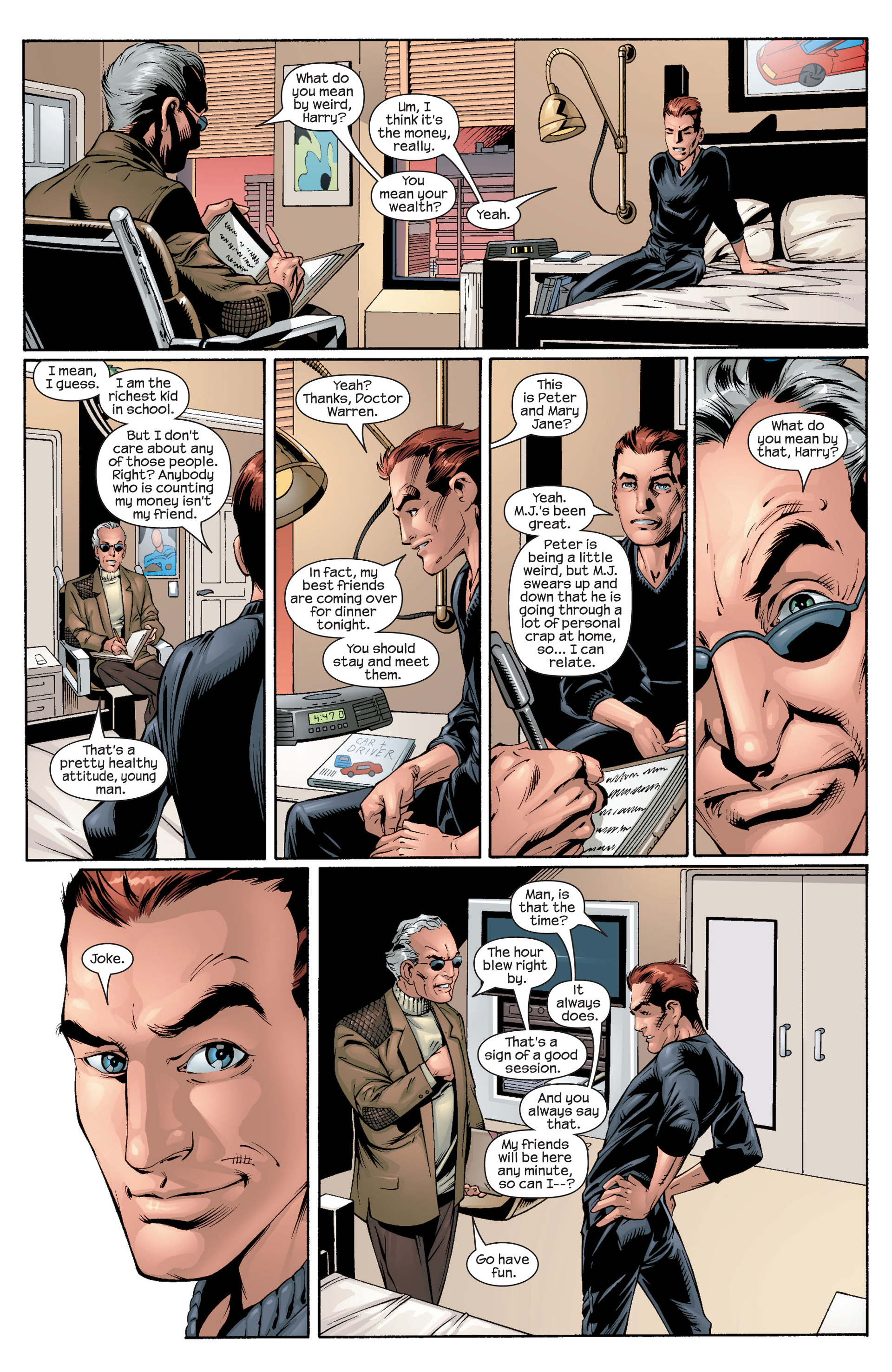 Read online Ultimate Spider-Man (2000) comic -  Issue #25 - 6