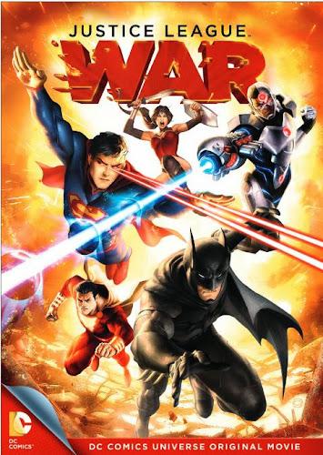 Liga de la Justicia: Guerra DVDRip Latino