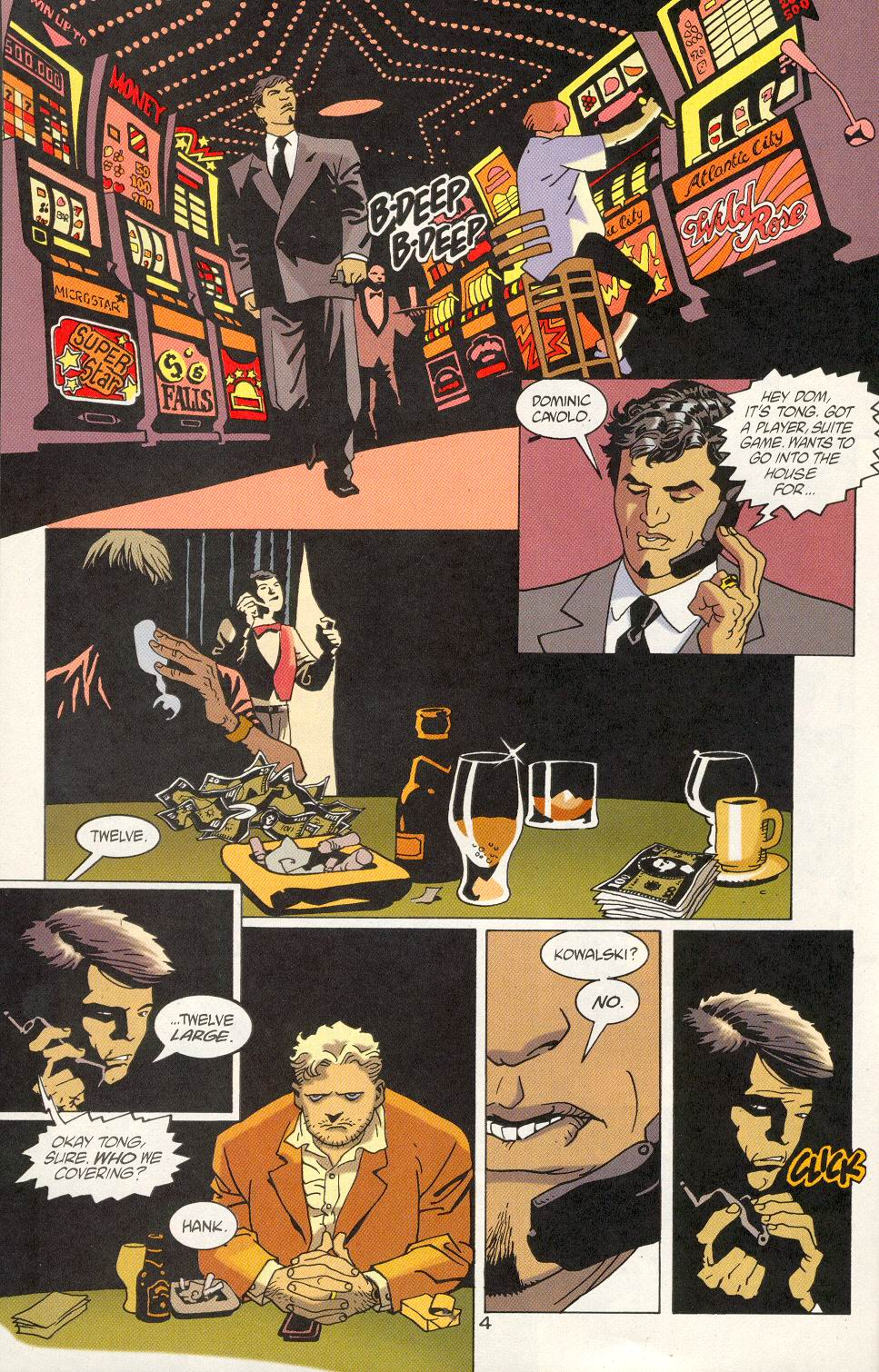 Read online 100 Bullets comic -  Issue #23 - 6