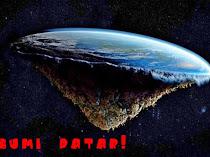 BENTUK BUMI ITU DATAR!! Kamu Islam Percaya Bumi Bulat? Otakmu Telah Dicuci !!