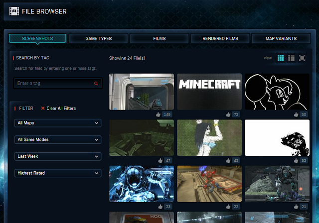 The Halo Reach File Browser is Back!! - Reach - 343 Industries News