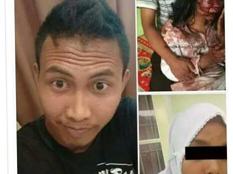 Pelaku penganiya sadis Nadya siswi SMA Swasta, Dede Sahputra alias Dirli berhasil ditangkap Unit Jatanras Ditreskrimum Polda Sumut, Jumat (27/10/2017). Pelaku berhasil ditangkap di Riau.