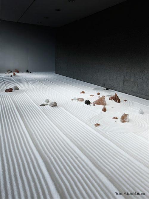 Instalación artística contemporánea
