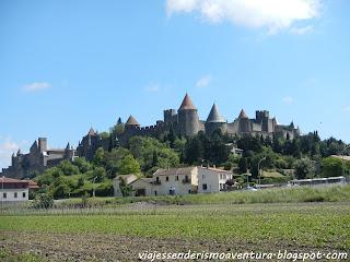 Vista externa de Carcassonne