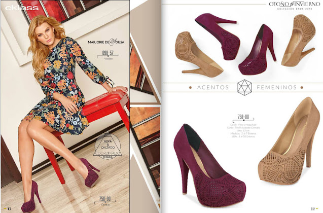 Cklass  para damas calzado 2021 : catalogo