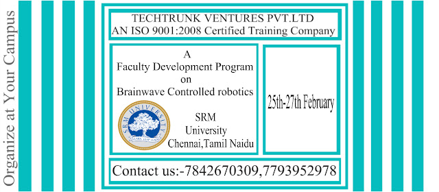 A Faculty Development Program on Brainwave Controlled Robotics, SRM University Chennai