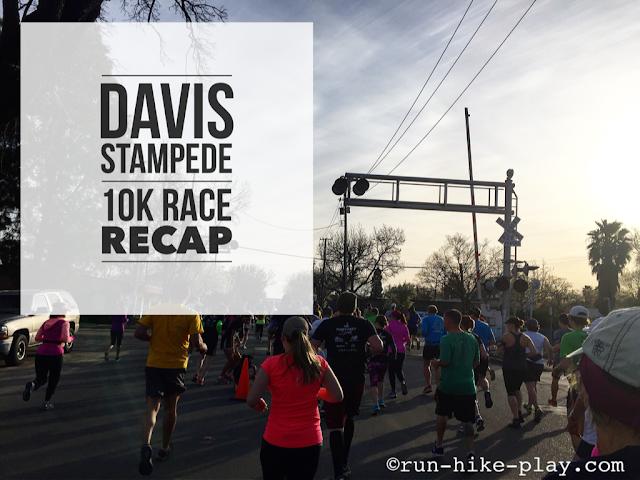 Davis Stampede 10K Race Recap