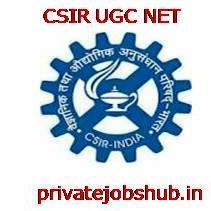 CSIR UGC NET
