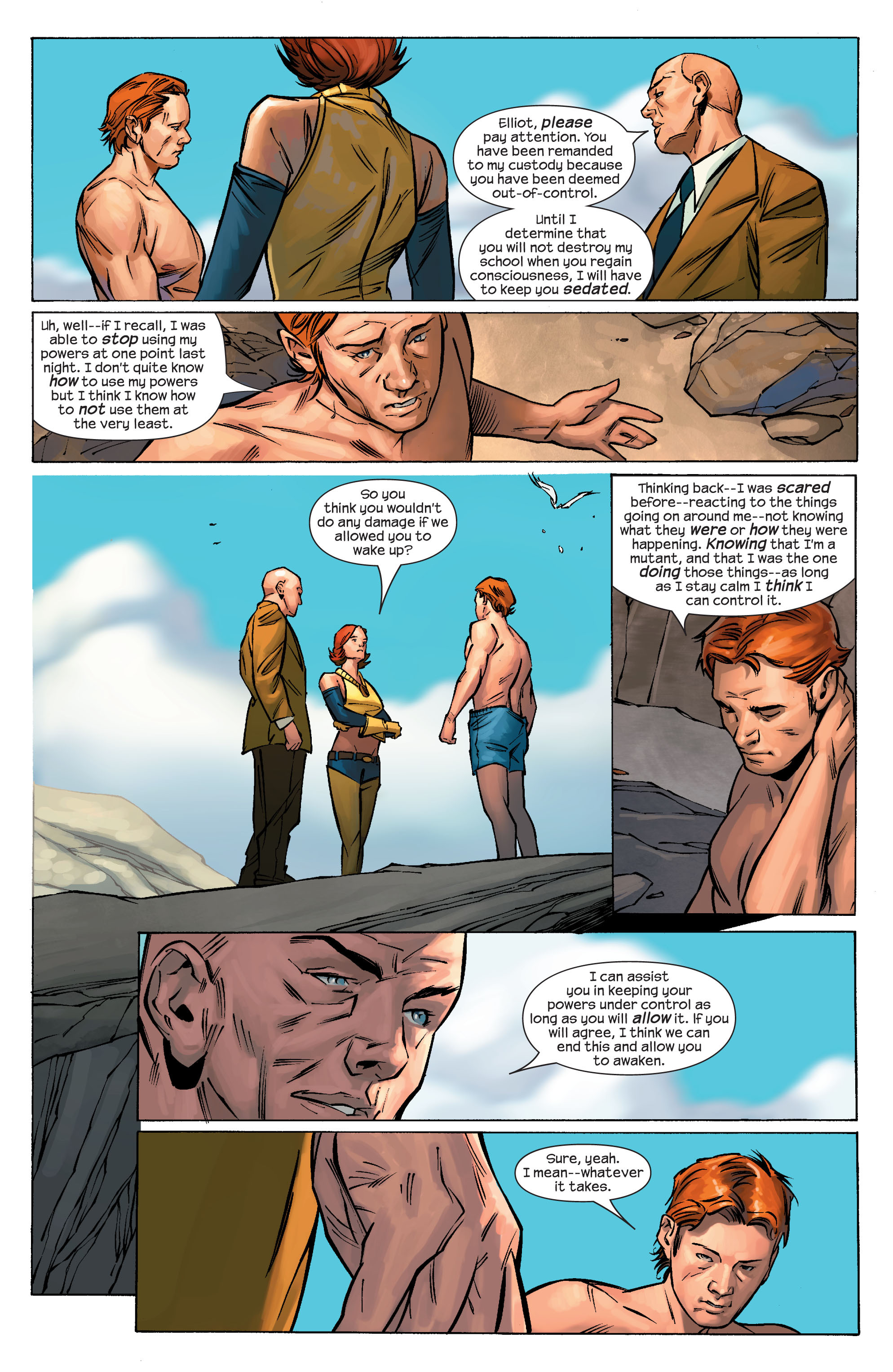Read online Ultimate X-Men comic -  Issue #69 - 6