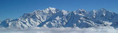 Mount Blanc(White Mountain)  Is The Highest Mountain In Alps