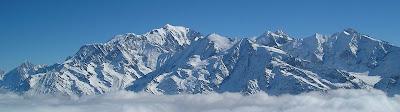 Mount Blanc(White Mountain)  Is The Highest Mountain In Alps